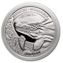 2020 Dem. Republic of Congo Silver Extinct Predators Mosasaurus