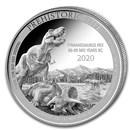 2020 Democratic Rep. of Congo 1 oz Silver Tyrannosaurus Rex BU