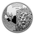 2020 Democratic Republic of Congo 1 oz Silver Lion (Panthera) BU