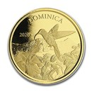 2020 Dominica 1 oz Gold Hummingbird BU