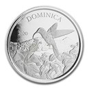 2020 Dominica 1 oz Silver Hummingbird BU