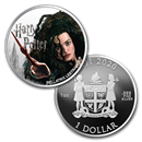 2020 Fiji 1 oz Ag Harry Potter Characters: Bellatrix Lestrange