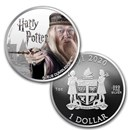 2020 Fiji 1 oz Prf Ag Harry Potter Characters: Albus Dumbledore