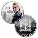 2020 Fiji 1 oz Silver Harry Potter Characters: Draco Malfoy
