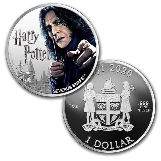 2020 Fiji 1 oz Silver Harry Potter Characters: Severus Snape