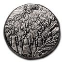 2020 Fiji 5 oz Silver Terracotta Army BU