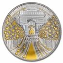 2020 France Proof Silver €10 Treasures of Paris (Champs Elysées)