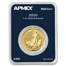 2020 GB 1 oz Gold Britannia (MintDirect® Single)