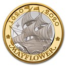 2020 GB £2 Silver 400th Anniversary of the Mayflower Proof
