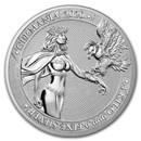 2020 Germania Allegories 1 kilo Silver Round BU