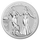 2020 Germania Allegories 1 oz Silver Round BU (Italia)