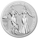 2020 Germania Allegories 5 oz Silver Round BU (Italia)