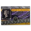 "2020 Gibraltar Cupro-Nickel ""Penny Black"" Stamp 180th Anniv"