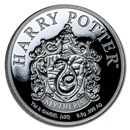 2020 Gibraltar Proof Silver Harry Potter School Crests: Slytherin
