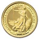 2020 Great Britain 1/10 oz Gold Britannia BU