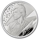 2020 Great Britain 1/2 oz Proof Silver Music Legends: David Bowie