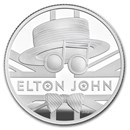 2020 Great Britain 1/2 oz Proof Silver Music Legends: Elton John