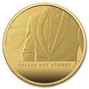 2020 Great Britain 1/4 oz Gold Proof James Bond 007 Coin #3