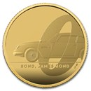 2020 Great Britain 1/4 oz Gold Proof James Bond Coin #1
