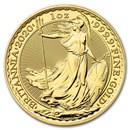2020 Great Britain 1 oz Gold Britannia BU Coin