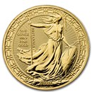 2020 Great Britain 1 oz Gold Britannia Oriental Border