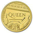 2020 Great Britain 1 oz Gold Music Legends: Queen BU