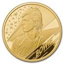2020 Great Britain 1 oz Gold Proof Music Legends: David Bowie