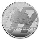 2020 Great Britain 1 oz Proof Silver James Bond 007 Coin #2