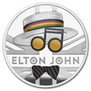 2020 Great Britain 1 oz Proof Silver Music Legends: Elton John
