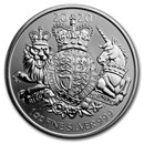 2020 Great Britain 1 oz Silver The Royal Arms BU