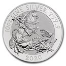2020 Great Britain 10 oz Silver Valiant BU