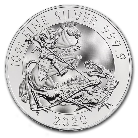 2020 Great Britain 10 oz Silver Valiant BU