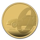 2020 Great Britain 2 oz Gold Proof James Bond Coin #1