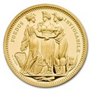 2020 Great Britain 2 oz Gold The Three Graces Proof