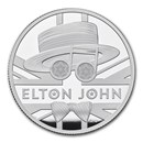 2020 Great Britain 2 oz Proof Silver Music Legends: Elton John