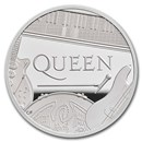 2020 Great Britain 2 oz Proof Silver Music Legends: Queen