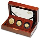 2020 Great Britain 3-Coin Gold Britannia Proof Set