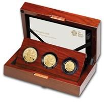 2020 Great Britain 3-Coin Gold Britannia Proof Set