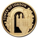 2020 Great Britain £5 Gold Proof The White Tower
