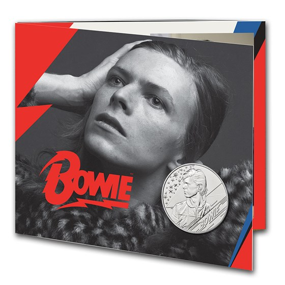 2020 Great Britain £5 Music Legends: David Bowie BU