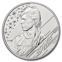 2020 Great Britain £5 Music Legends: David Bowie BU