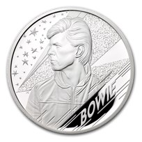 2020 Great Britain 5 oz Proof Silver Music Legends: David Bowie