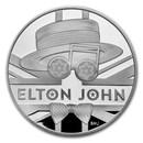 2020 Great Britain 5 oz Proof Silver Music Legends: Elton John