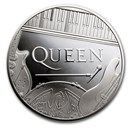 2020 Great Britain 5 oz Proof Silver Music Legends: Queen