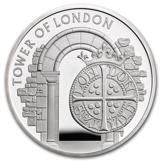 2020 Great Britain £5 Silver Proof The Royal Mint Piedfort
