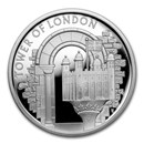 2020 Great Britain £5 Silver Proof The White Tower