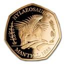 2020 Great Britain Gold 50p Proof Hylaeosaurus