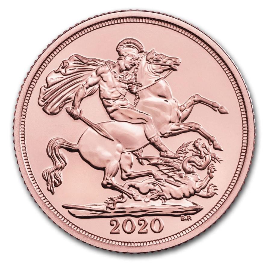 2020 Great Britain Gold Sovereign BU