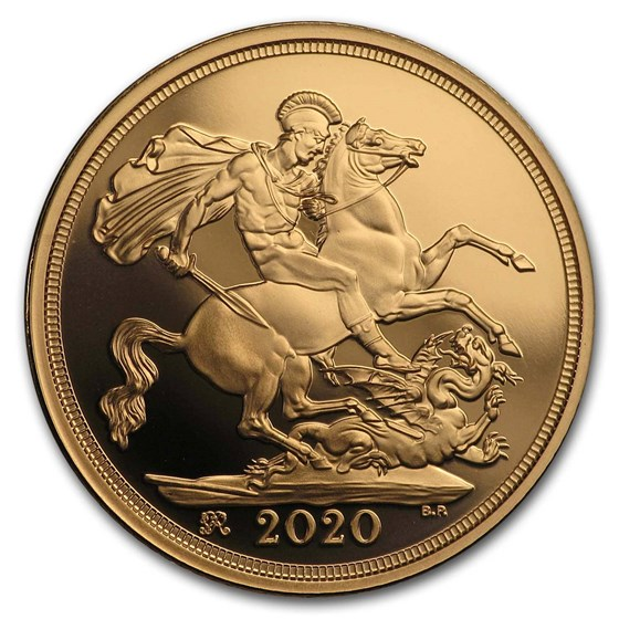 2020 Great Britain Gold Sovereign Proof (w/Box & COA)