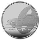 2020 Great Britain James Bond Coin #1 BU (w/ Display Card)